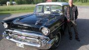 Då en bruksbil – nu en dyrgrip. Anders Johannesson har jobbat med bilen i nästan två år.