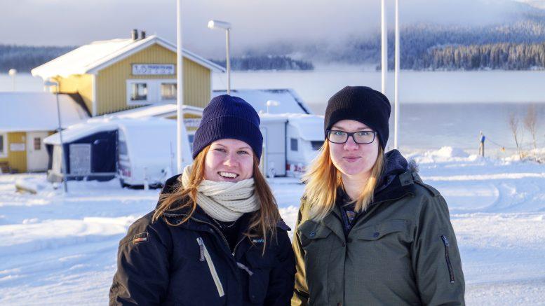 Emelie Rolandsson och Marika Strandberg