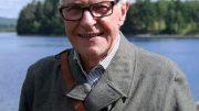 Göran Normann i beredskap vid Skansen Alanäs.